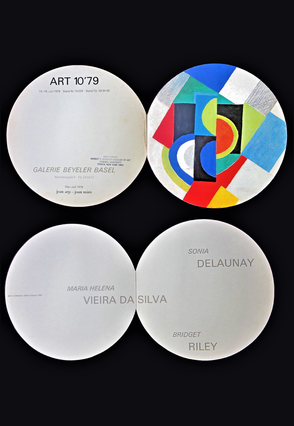 """Sonia Delaunay"",  1979, invitation"