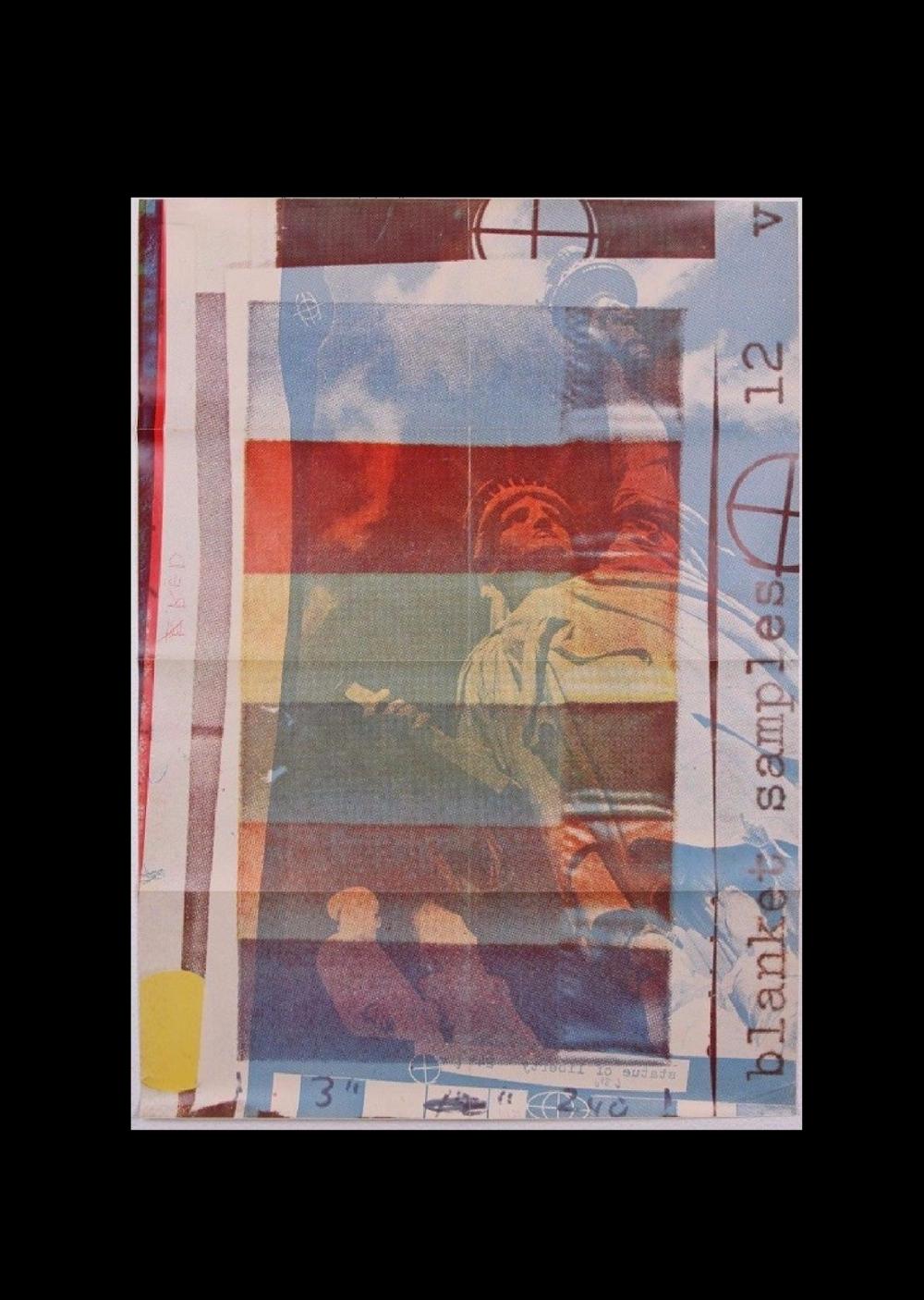"""Robert Rauschenberg"",  1963, lexhibition poster/invite, Leo Castelli Gallery NY."