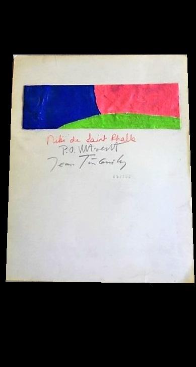 "Niki de Saint Phalle / Per-Olof Olsson / Jean Tinguely- ""HON"" , 1966, SIGNED,  SOLD"