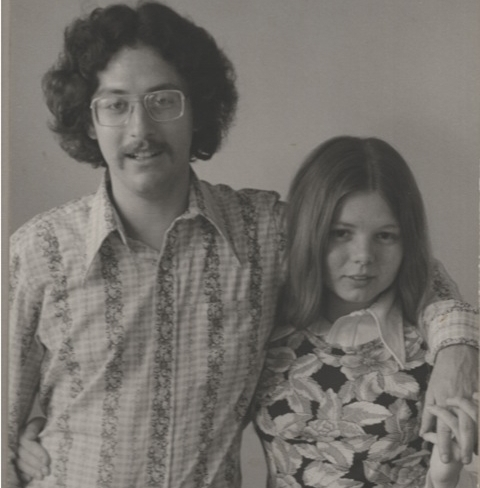 Michael & Elizabeth in 1974