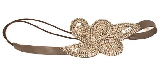 Matr Boomie 1920's inspired silver headband