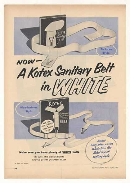 Via  pinterest.com  from 1952. Luckily a few things have changed!