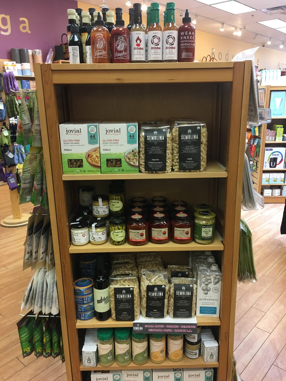 Stop in and check out John's featured ingredients in our grocery section!