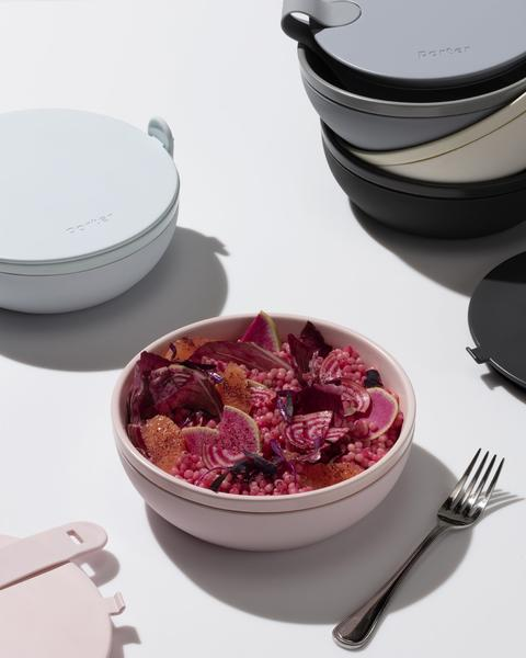 W&P Porter Lunch bowl (in ceramic and BPA free plastic options)
