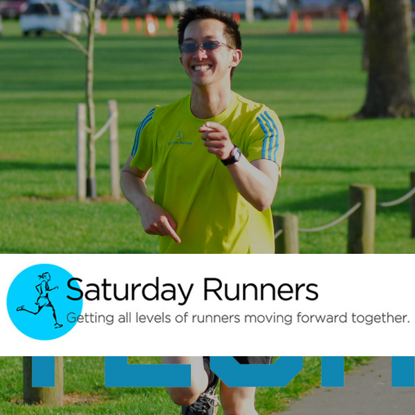 Your regular Saturday running group Learn More >