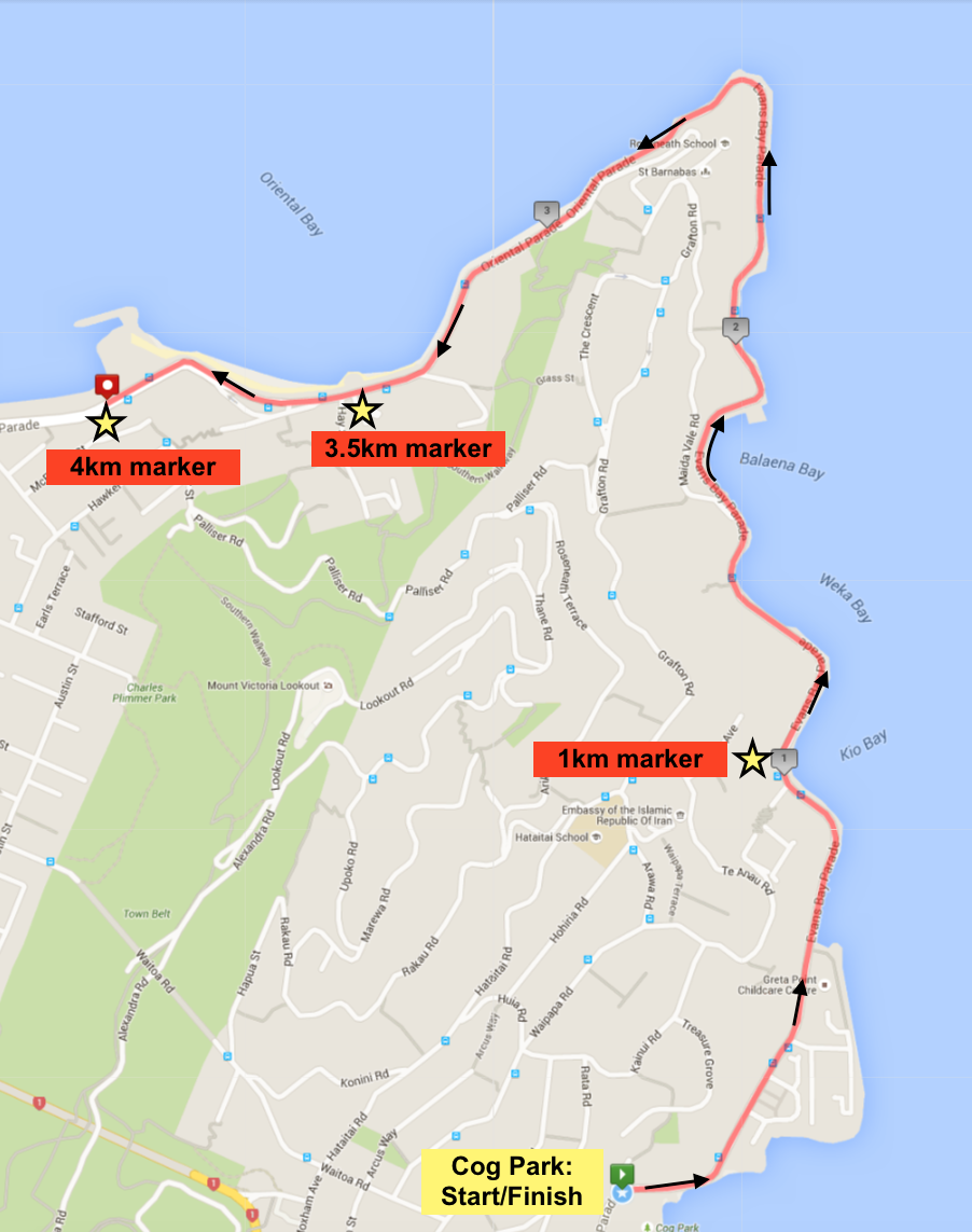 Course Map: Click on image to enlarge