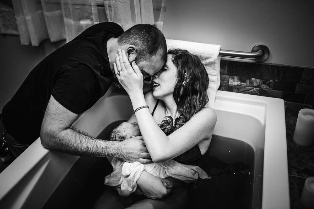 kiss after birth