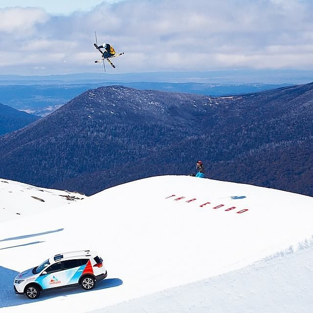 SONTIMER Athlete Ryley Lucas is pumped up for some action at the @afpworldtour big air event kicking off today from 10:30am on Thredbo's mammoth @onehitwonderdu jump!! Come check out the action and get a chance to win some free goggles while your at it too :) Here's a great shot of @ryleylucas boosting on the One Hit Wonder jump last year. @thredboresort @thredboparks #onehitwonder #SONTIMER #onceuponamountain #sendingit