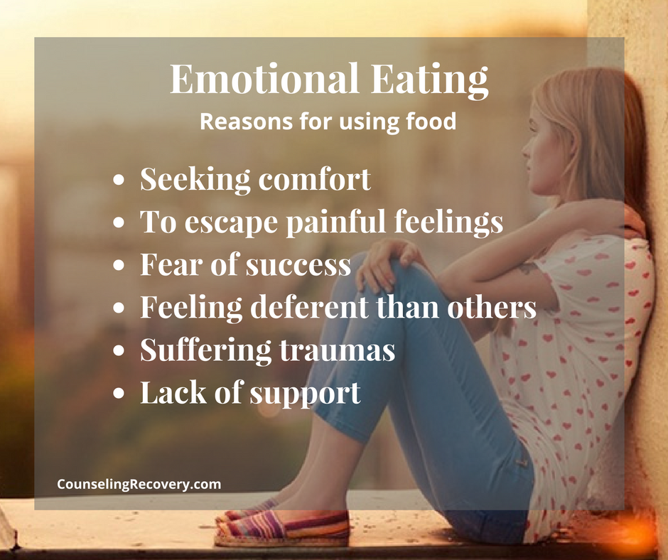Tips for emotional eating and compulsive overeating