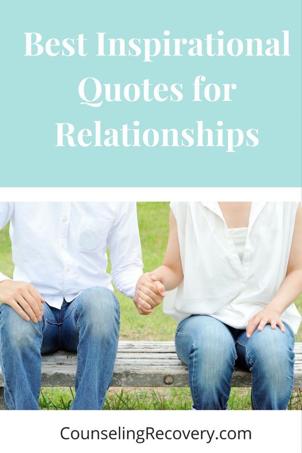 Inspirational quotes to help with relationships