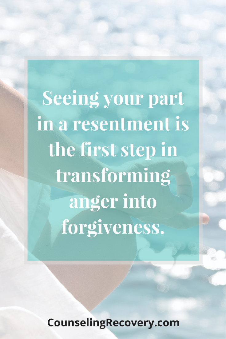 How to turn resentments into acceptance