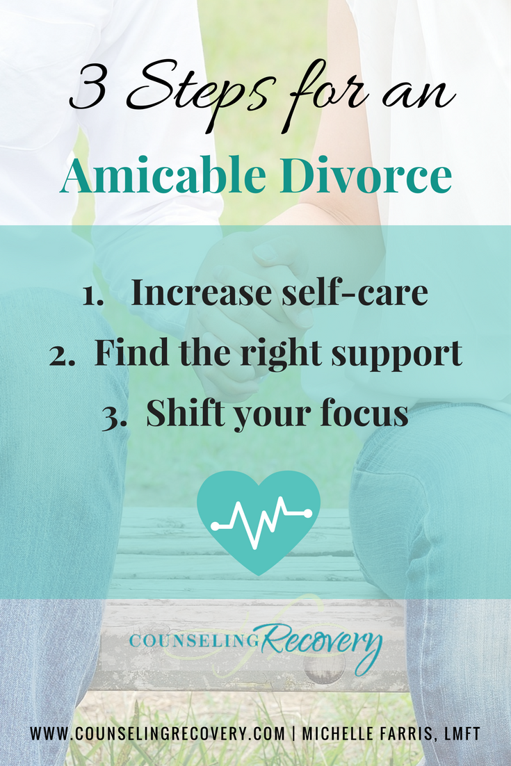 Tips for creating an amicable divorce