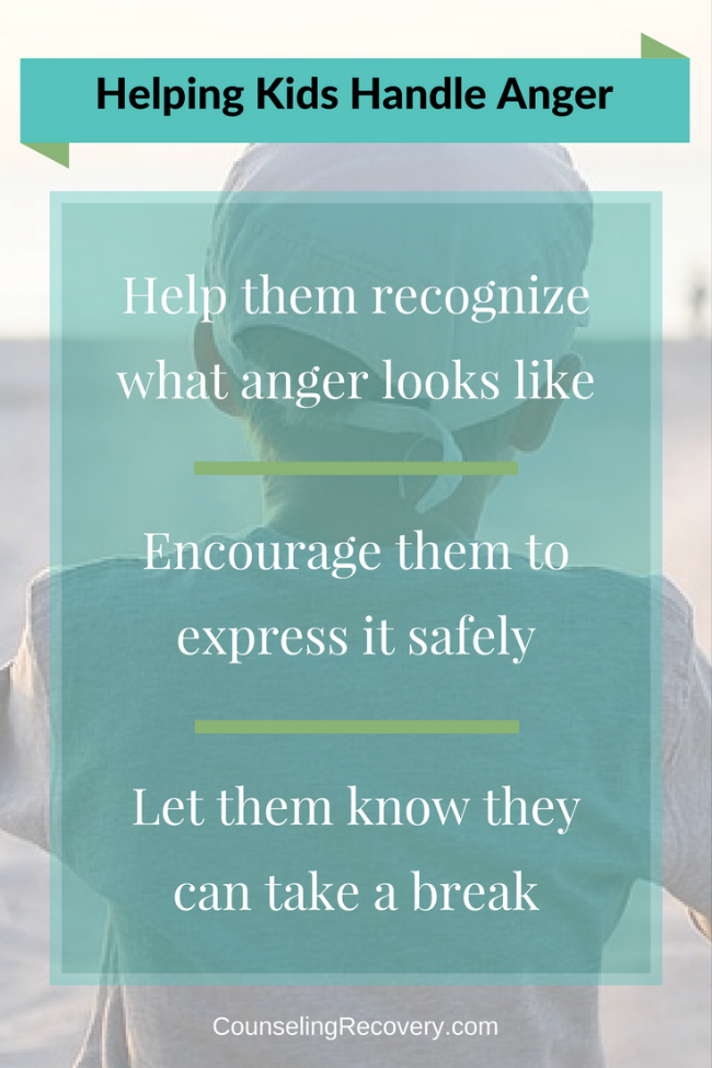 Helping kids handle their anger