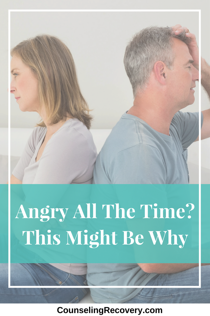 Reasons you might be angry