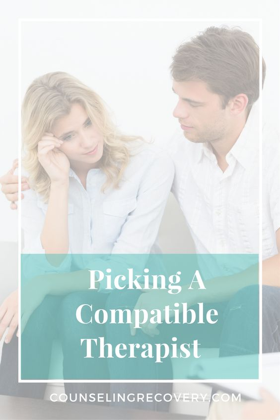 Picking a compatible therapist