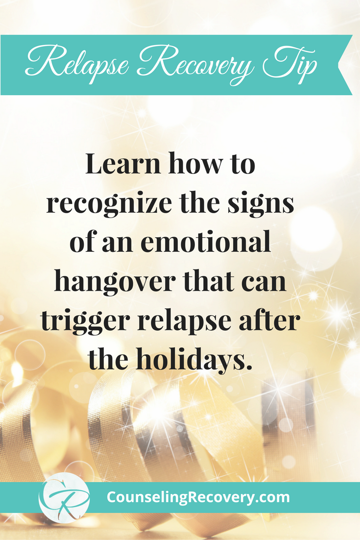 Tip for managing sobriety during the holidays
