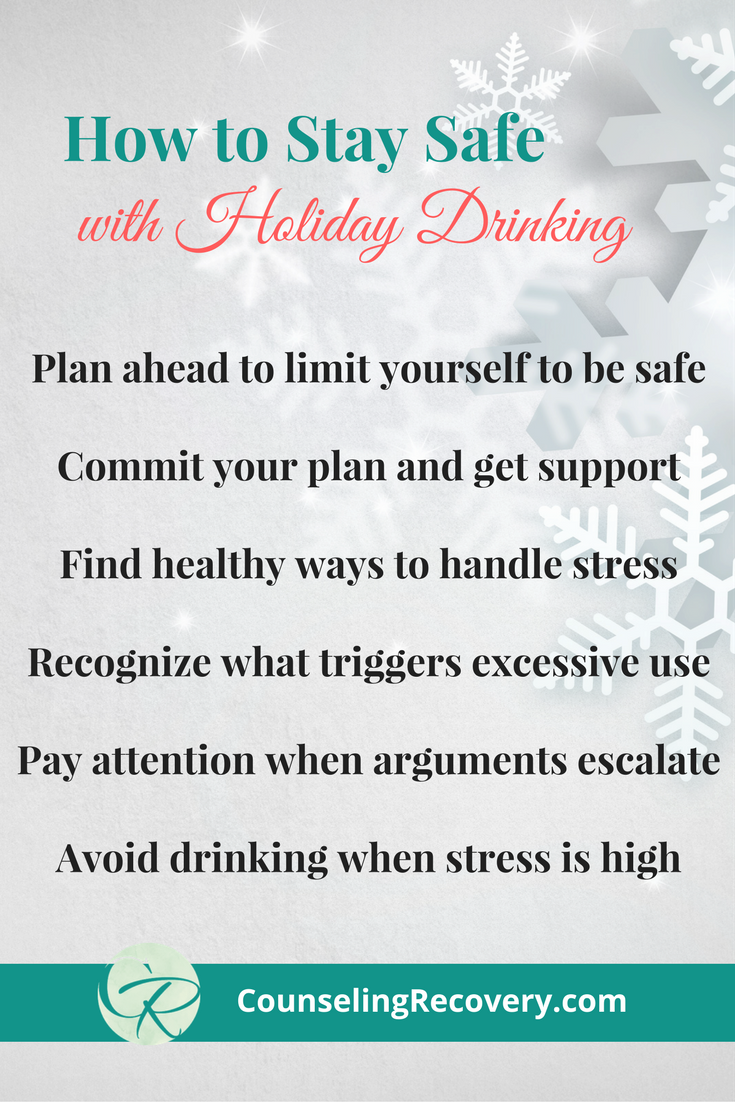 Safe drinking around the holidays