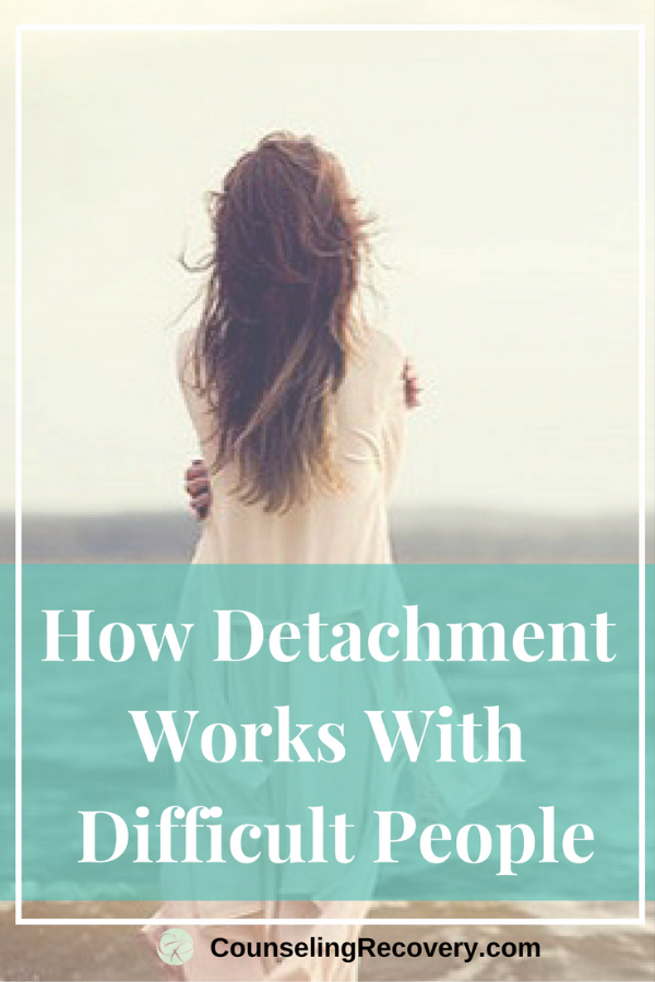 How detachment works with difficult people