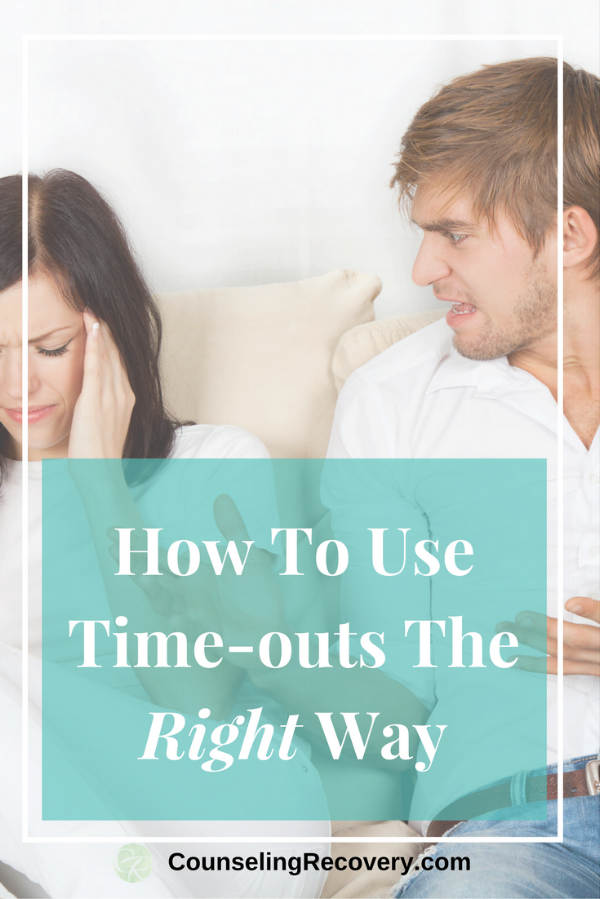 How to use time-outs effectively with anger management