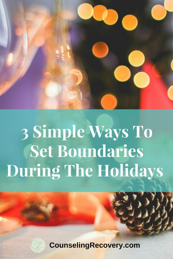 Holiday boundaries blog