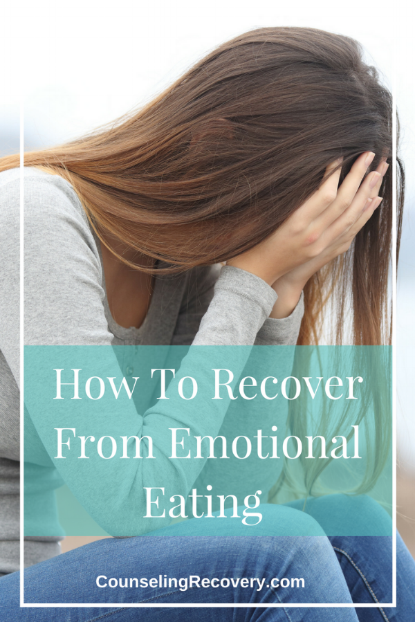 Emotional eating recovery