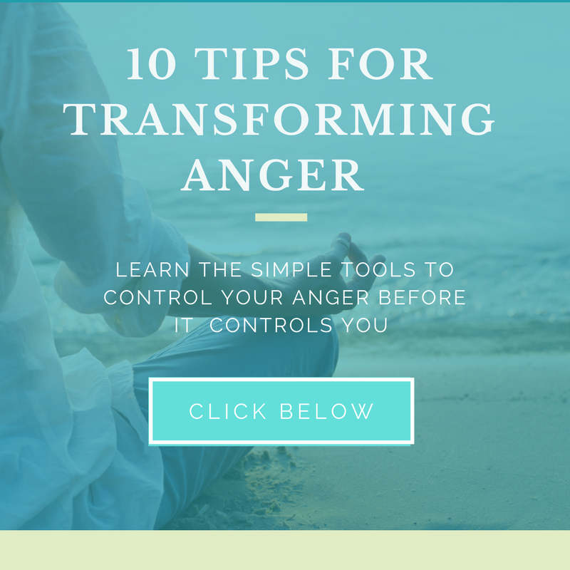 Tips for transforming anger