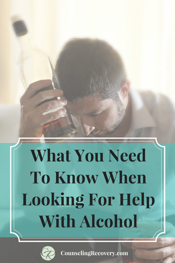 How to find the right alcohol treatment help
