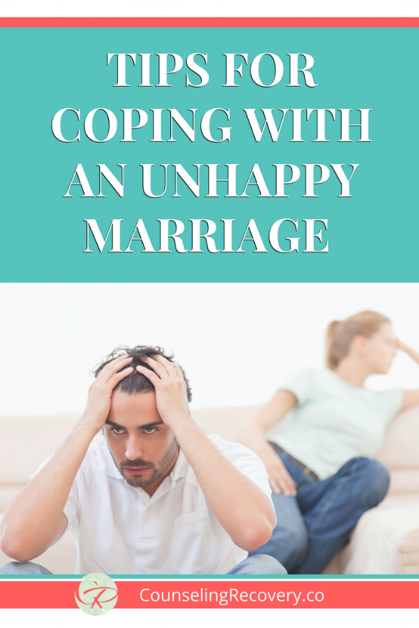 Tips for coping with an unhappy marriage