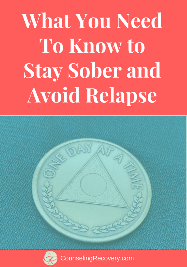 Tips for Staying Sober and Avoiding Relapse