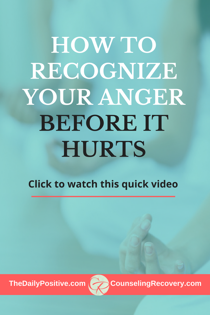 3 Quick tips to Catch and Manage Your Anger