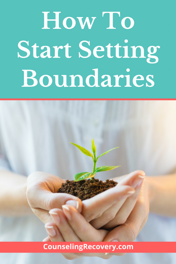 How to Start Setting Boundaries Blog