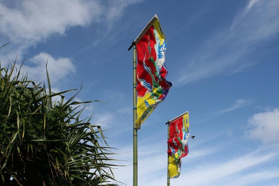 Belinda Close Flags