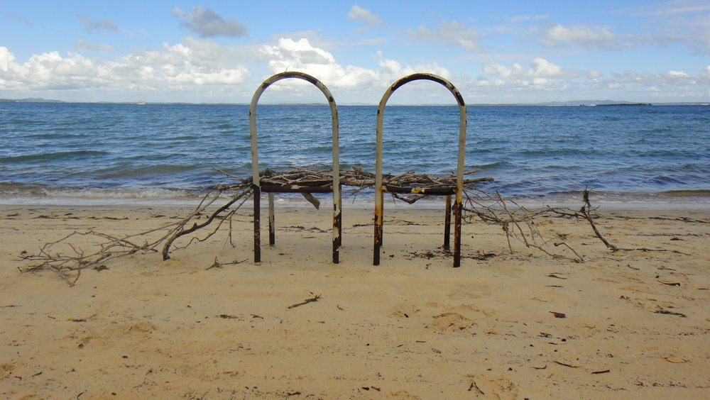 Sharon Jewell,  Two chairs.  Adam's Beach