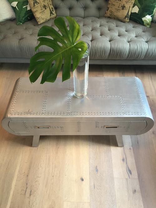 Aviator coffee table / sideboard - Aviator Coffee Table / Sideboard — Monarch & Mallard