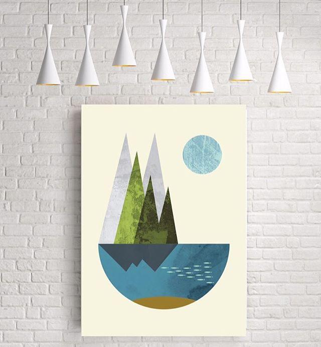 Minimalist Earth Poster • #EarthArt #MinimalistDesign #FancyDecor #ModernDecor #SucculentPlants #SpringFever #BookPlanter #SucculentPlanter