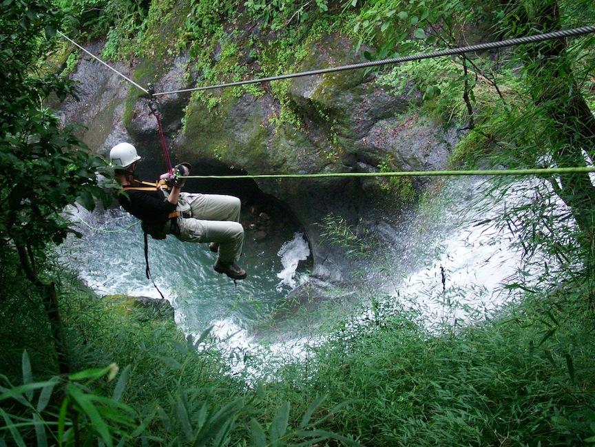 Miramar Waterfall rappel.jpg