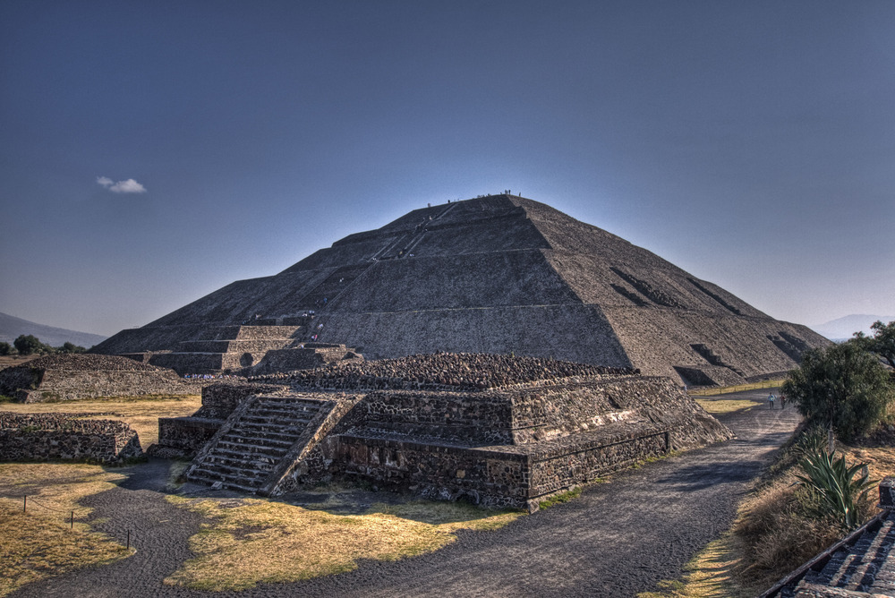 A pyramid, Latin American style.