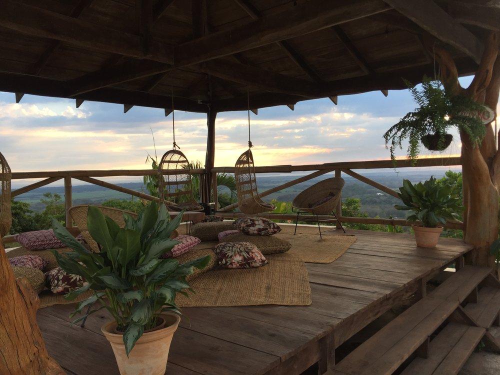 Gazebo Deck - Sunset View