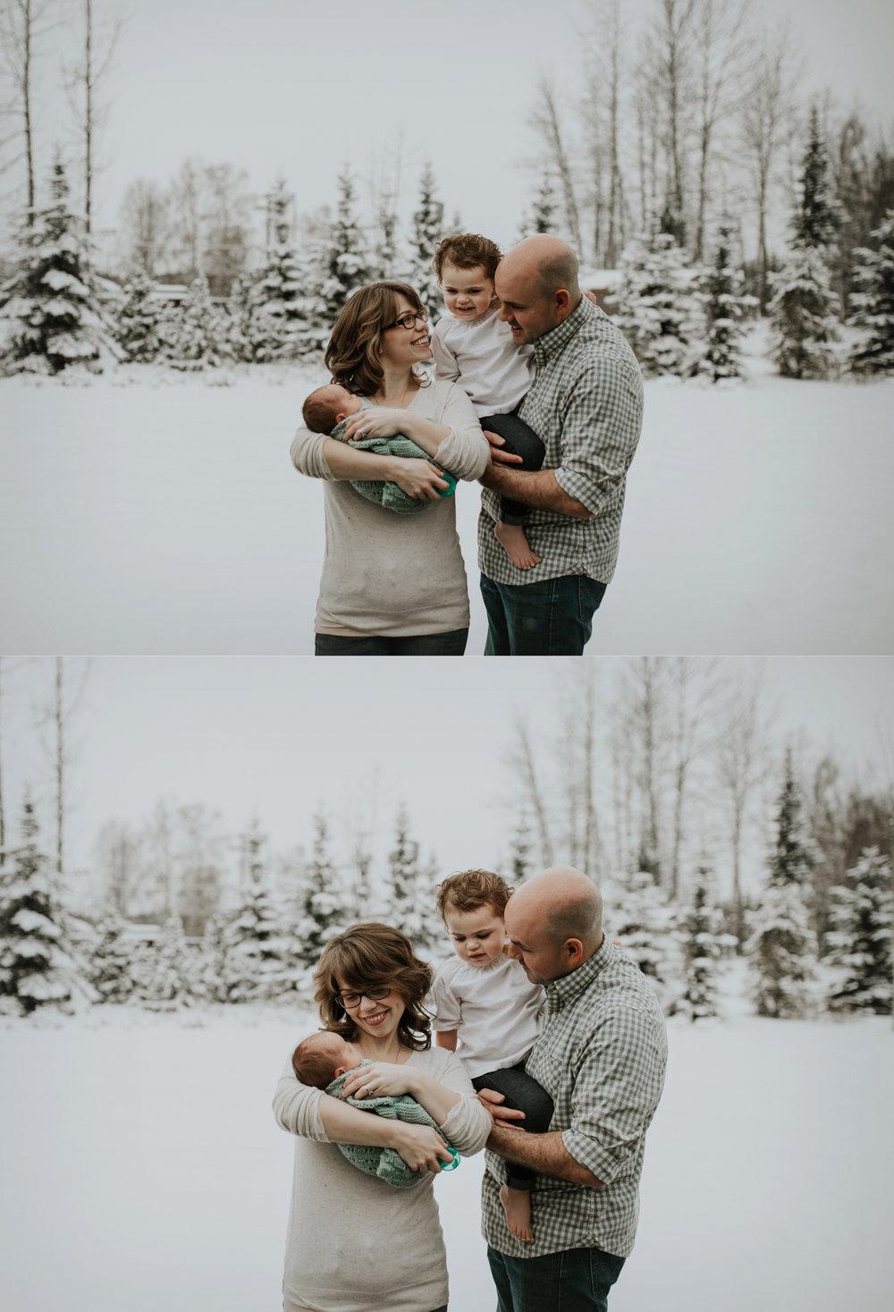 alaskan newborn photographer