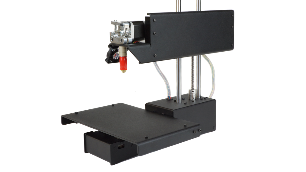 The Printrbot Simple Metal Black. A little printer with a lot of names.