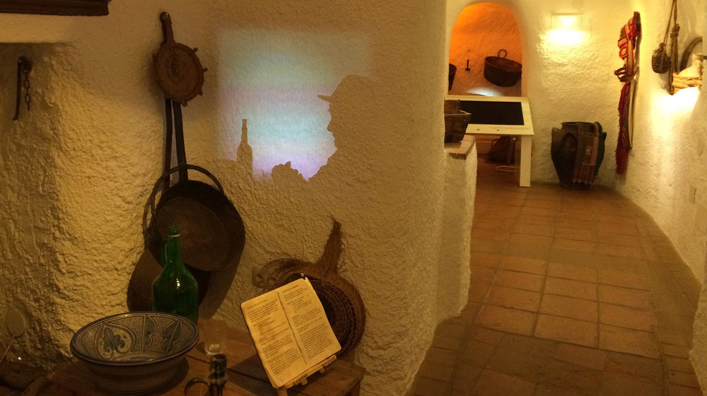 The cave museum in Guadix