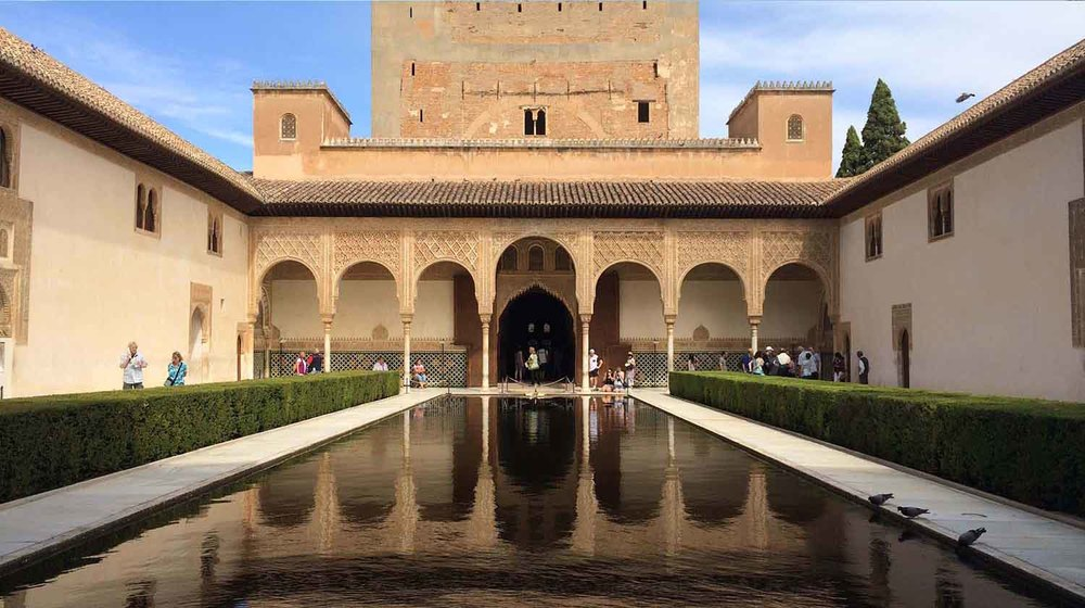 The Comares Palace, The Alhambra