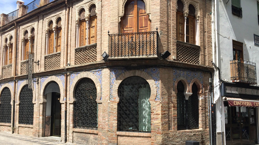 Moorish architecture in the Albaycin