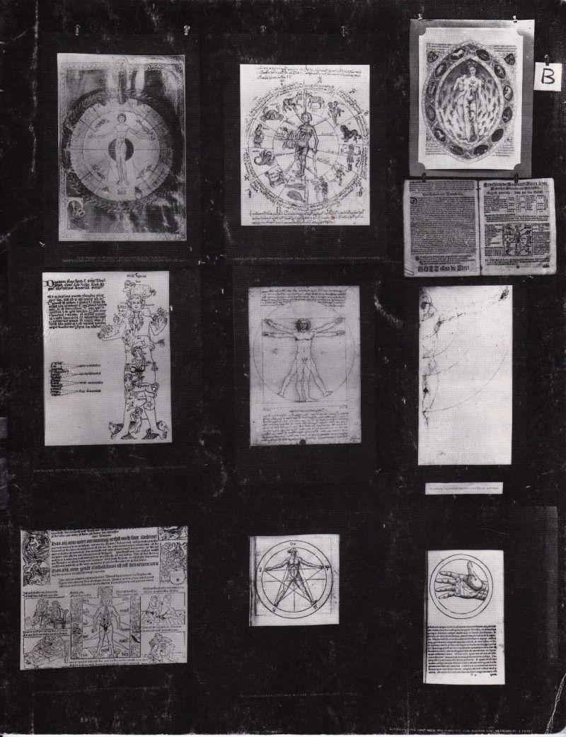 Planșa B, Atlas Mnemosyne, Aby Warburg