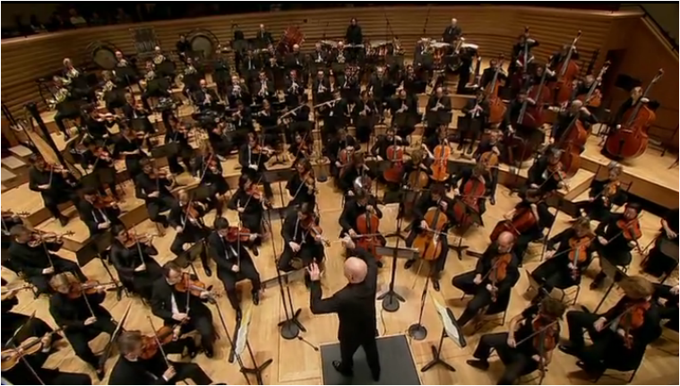 "F.5 Christoph Eschenbach performing the ""final version"" of Mahler's First Symphony"