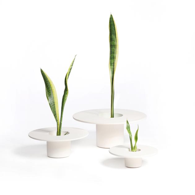 Tripot white set