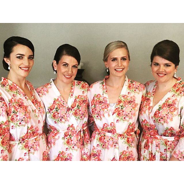 Beautiful bridal party at today's wedding! Thanks you for such a lovely day ladies!  Makeup by @belleallurestylistandmakeup  Hair by @junerosebridalmakeuphair  #mobilebridalhairandmakeup #southernhighlandsmakeupartist #southernhighlandsweddings #southernhighlandsbrides #gibraltarwedding #bowralwedding #belleallurebridal #bellealluremakeup #junerosebridalmakeupandhair