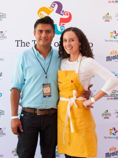 Veronica and Aaron Camacho