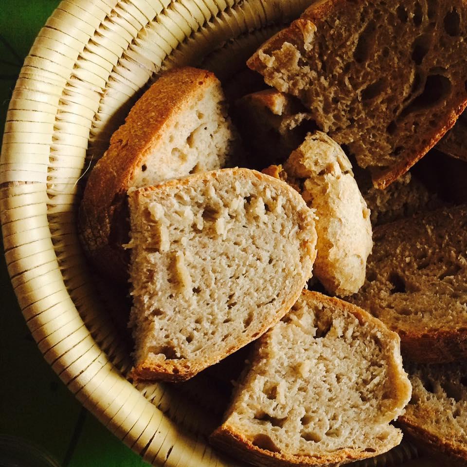 El resultat va ser aquest pa de blat i sègol