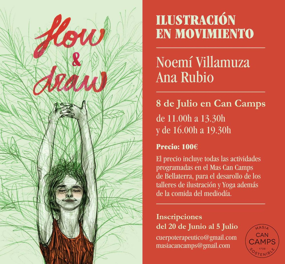 cartel flow and draw 8 julio
